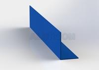 L profil 20 x 30 x 2 mm extrudovaný 3D lak