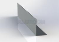 L profil 20 x 30 x 2 mm extrudovaný 3D