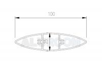 hliníkový profil bat k100