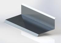 Horní lišta čelní 3D - hliník