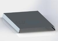 Oplechovani atiky 3D hliník