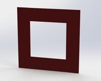 Podložky pod vypínač AA  3D 2 barva RAL