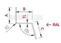Soklová lišta 2 ABC