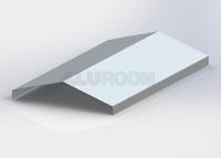 Hřebenová lišta 3D Hliník