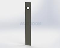 Obklad vypínače obdélník 3D barva RAL