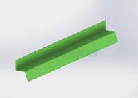 Soklová lišta 2 3D barva RAL